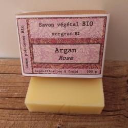 savon bio argan rose  - 100g