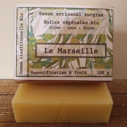 savon bio Le Marseille - 100g