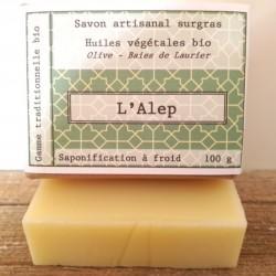 savon bio L'Alep  - 100g