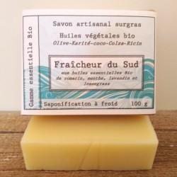 savon bio Fraîcheur du Sud...